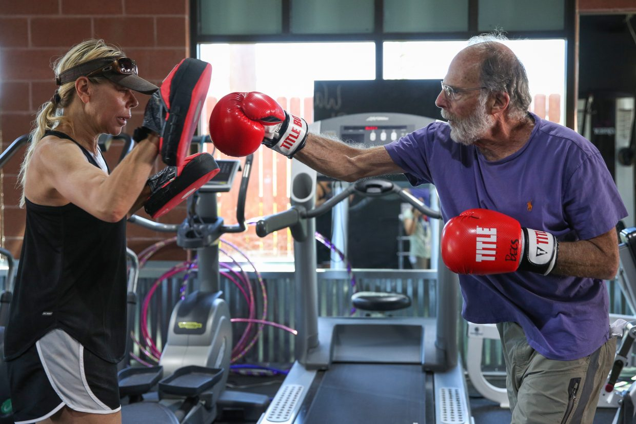 Wasatch Training Center taking punches at Parkinson's