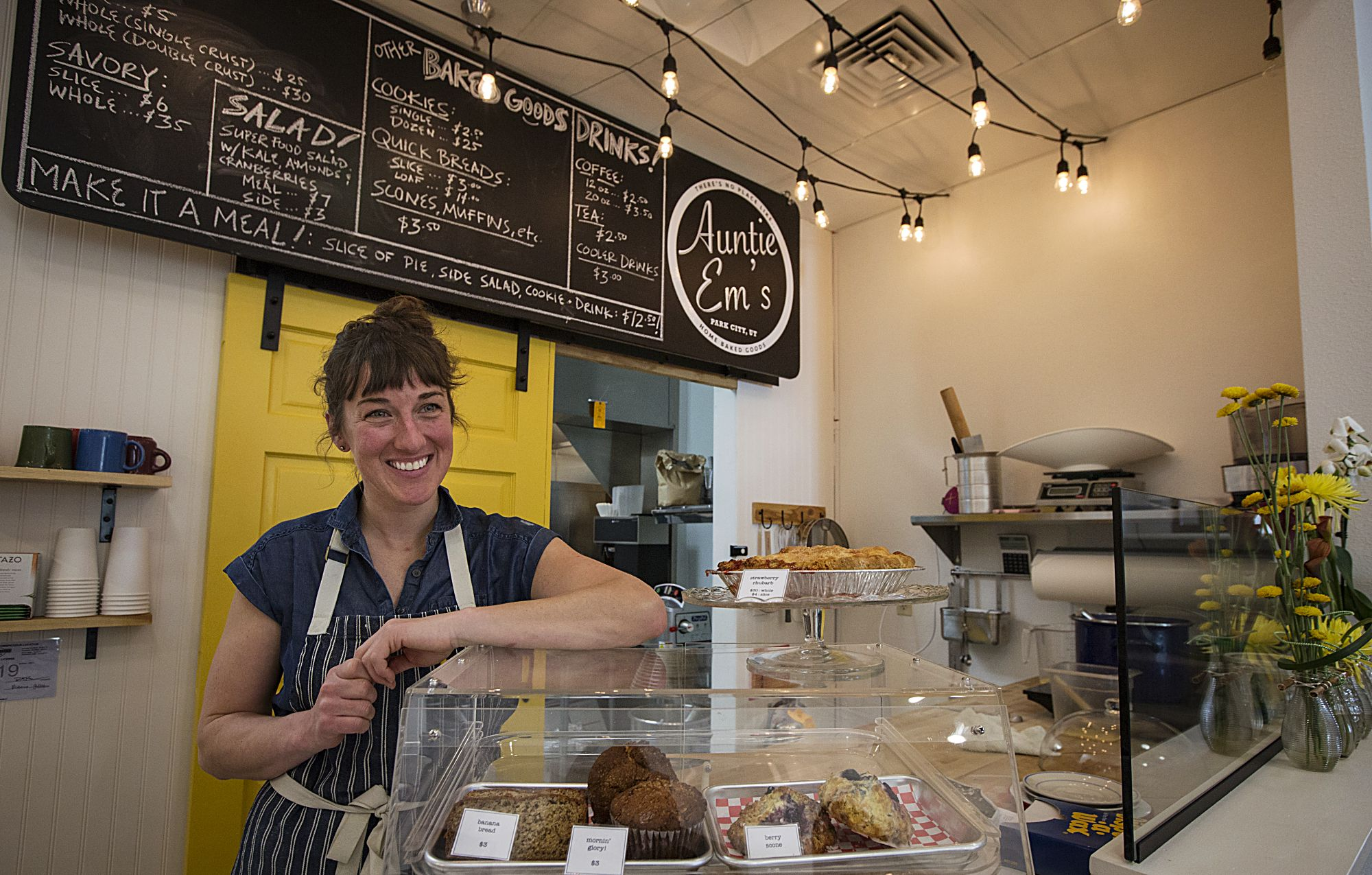Park City baker to serve pies and other sweets at Kimball Art Center