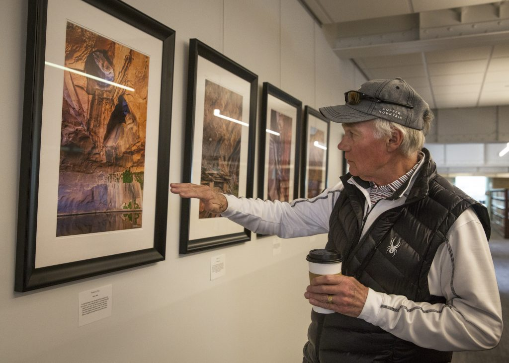 Exhibit showcases Utah landscapes through two unique visions