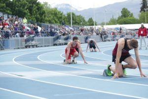 Miners track finishes season with strong relays