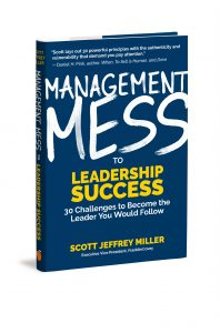 Author Scott Jeffrey Miller of FranklinCovey aims to guide managers from messes to successes