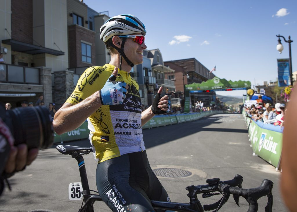 Ben Hermans wins the Tour of Utah