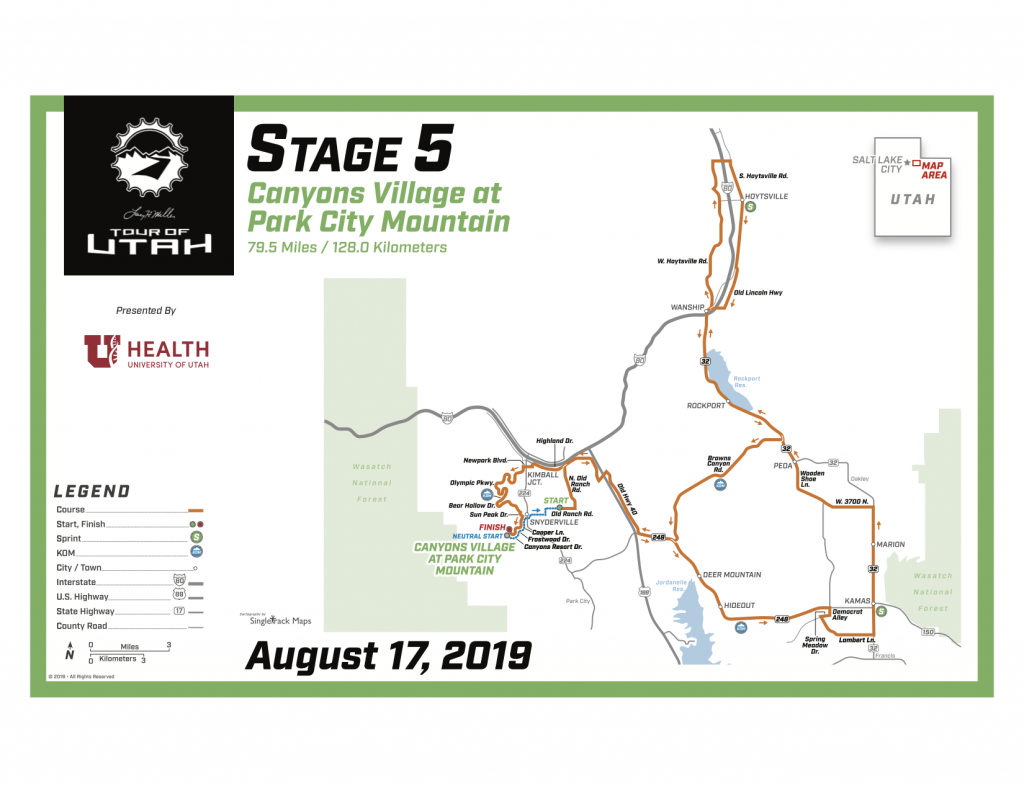 Here's where to catch the action as the Tour of Utah's final two stages return to Park City