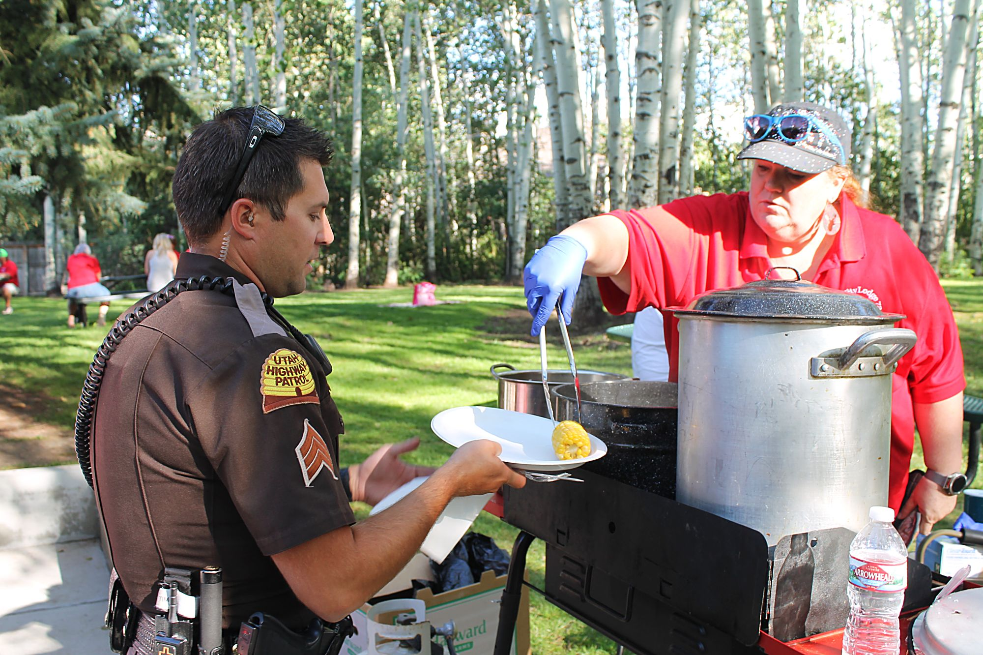 First responders honored at annual Elks Lodge picnic
