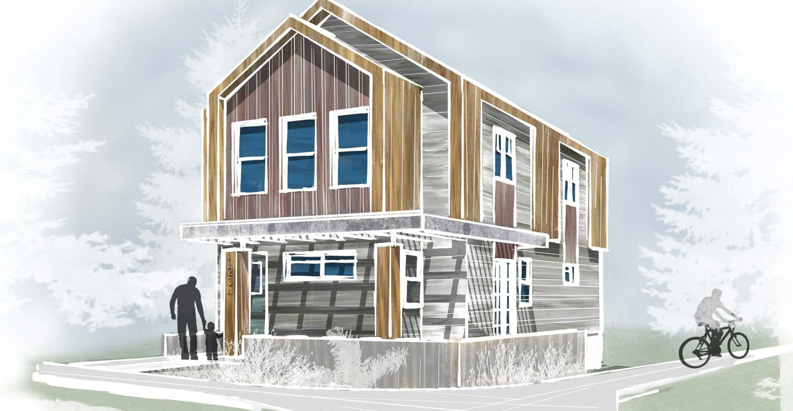 As construction in Silver Creek Village gets underway, its affordable housing does too