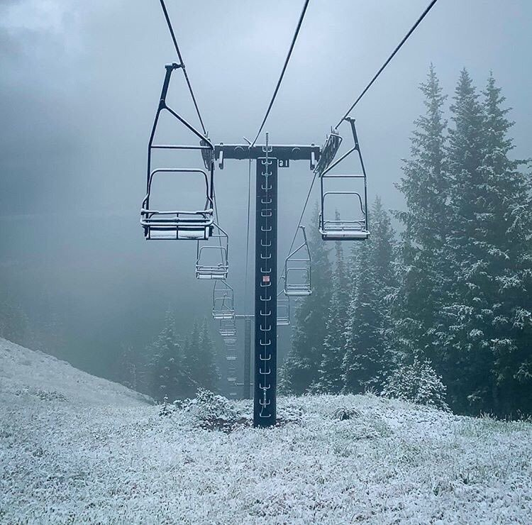 Park City sees first snow of the season, sort of