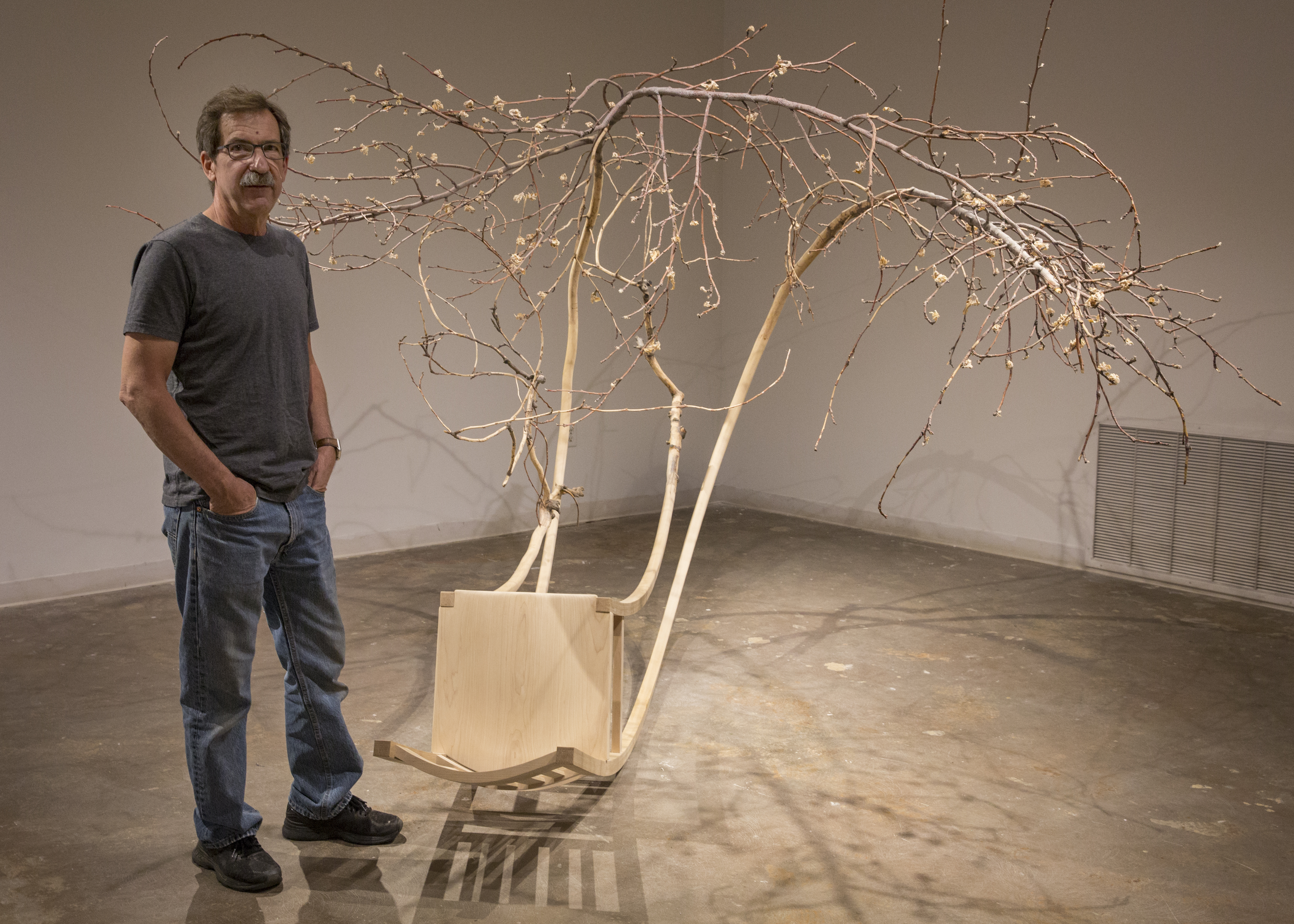 Jim Jacobs' sculptures focus on the 'Imperfections That Render Us Visible'
