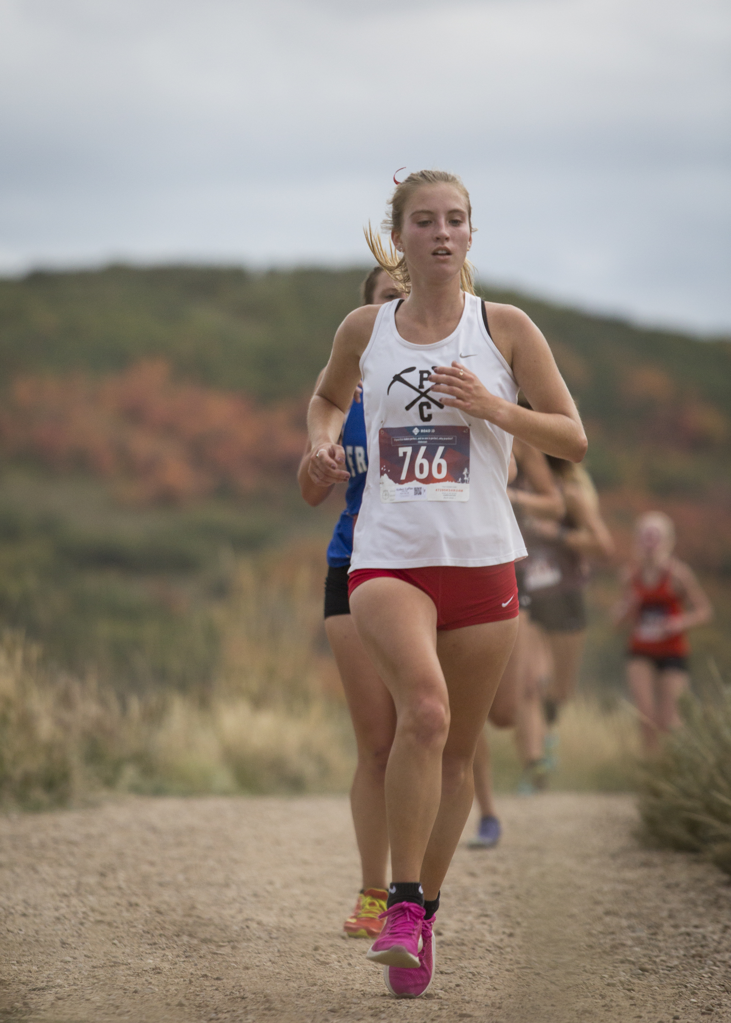 Park City senior Sydney LaPine ready to finish strong on the cross-country course