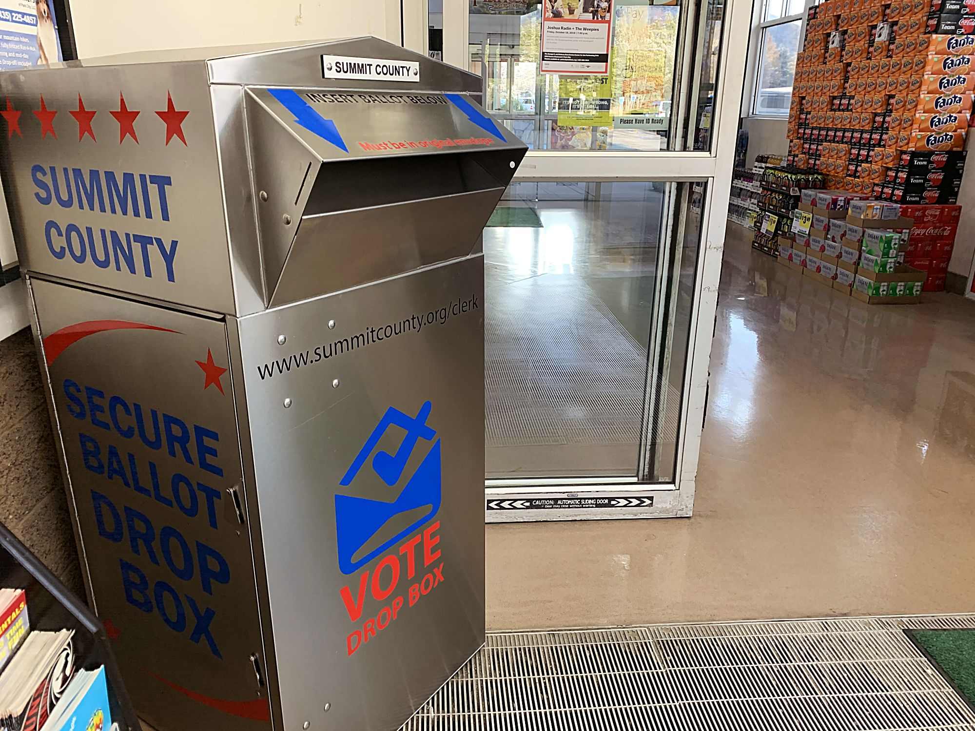 Park City ballots arrive, and so do the drop boxes