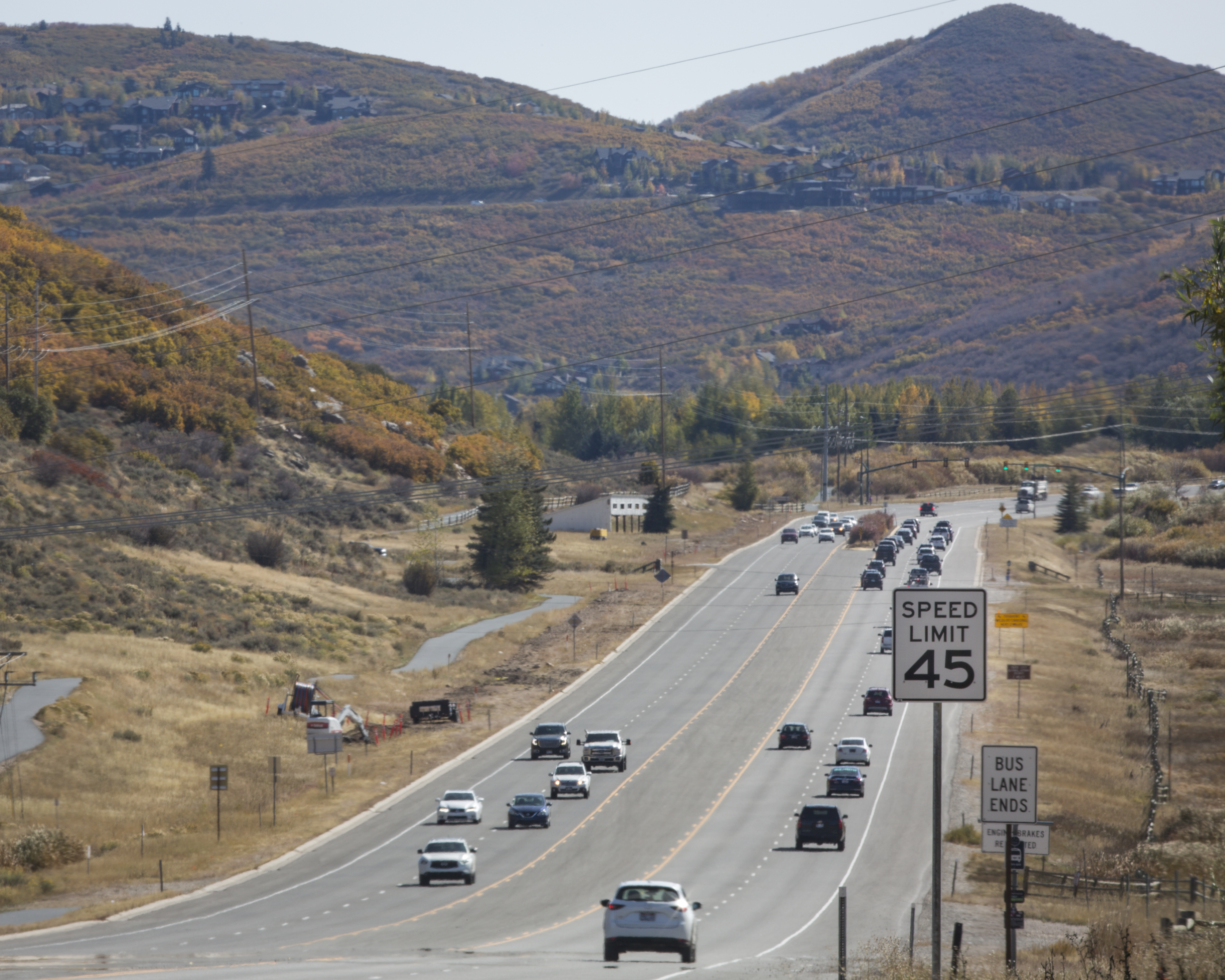 Park City police officers 'stepped up' enforcement after S.R. 224 speed change