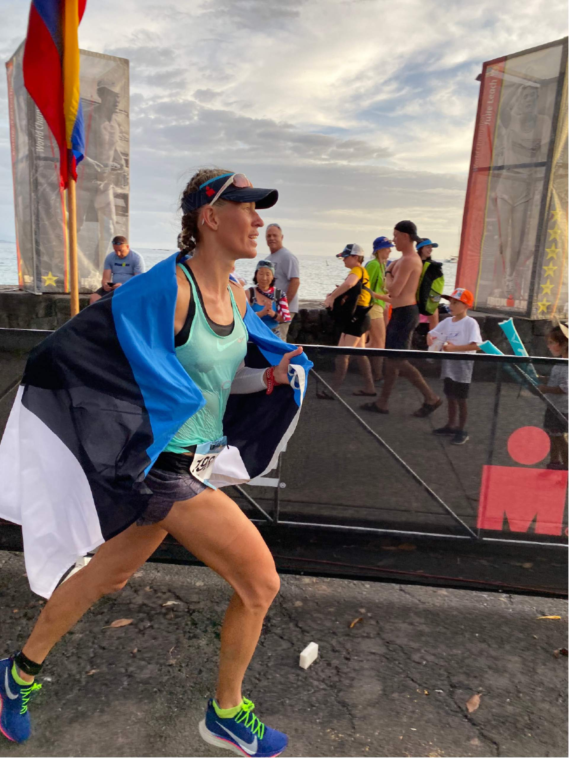 Parkite Liis Rametta finished eighth at Ironman World Championships